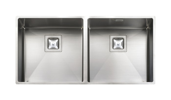 Sink, Double Bowl, Rangemaster Atlantic Kube, KUB4040