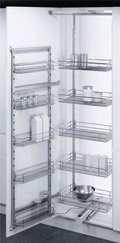 Swing Out Pantry Unit, Complete Set, Full Extension, Vauth Sagel VS TAL Gate Pro