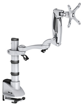 Swivel arm, Ellipta, with long arm, base pole 260 mm, with height adjustment
