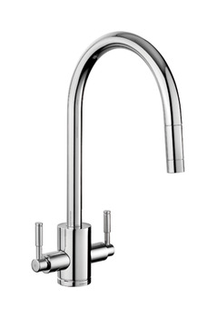 Tap, Dual Lever, Pull Out Spray, Rangemaster Aquatrend