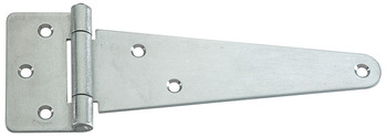 Tee Hinge, Height 65 mm, Stainless Steel