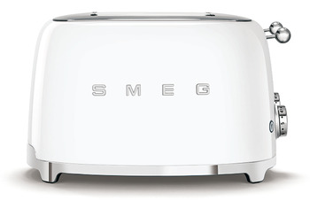 Toaster, Four Slice with Four Large Slots, Smeg 50's Retro Style
