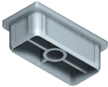 Tubular Insert, 60 x 30 mm, Shoptec Shopfitting System