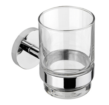 Tumbler and Holder, Height 67.5 mm x Width 95 mm x Depth 105 mm, Romsey