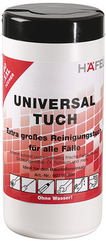 Universal wipes, Häfele, surface products