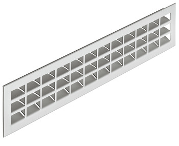 Ventilation Grill, for Recess Mounting, 550 x 80 mm