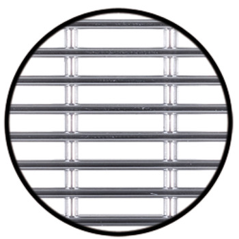 Ventilation Grille, for Recess Mounting, 50 x 50 mm, Plastic
