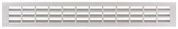 Ventilation Grille, for Recess Mounting, 550 x 80 mm