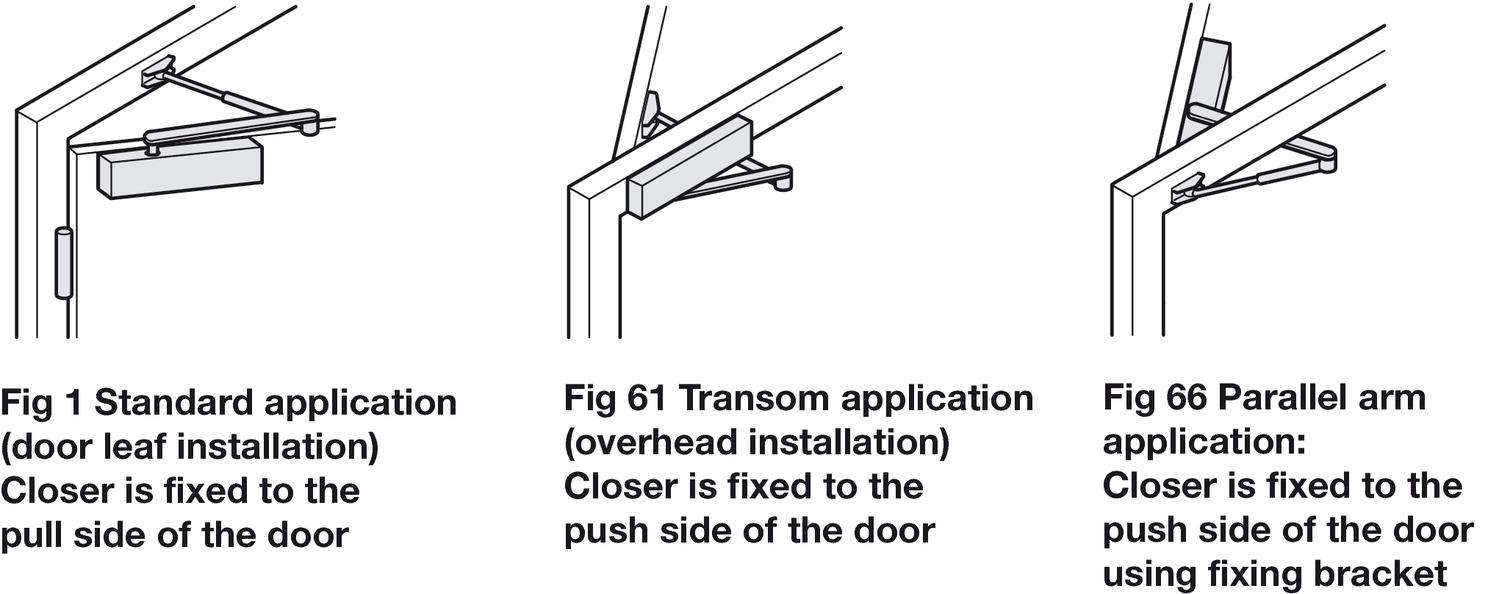 door closer overhead aluminium body geze ts 4000 s h fele ireland shop. Black Bedroom Furniture Sets. Home Design Ideas