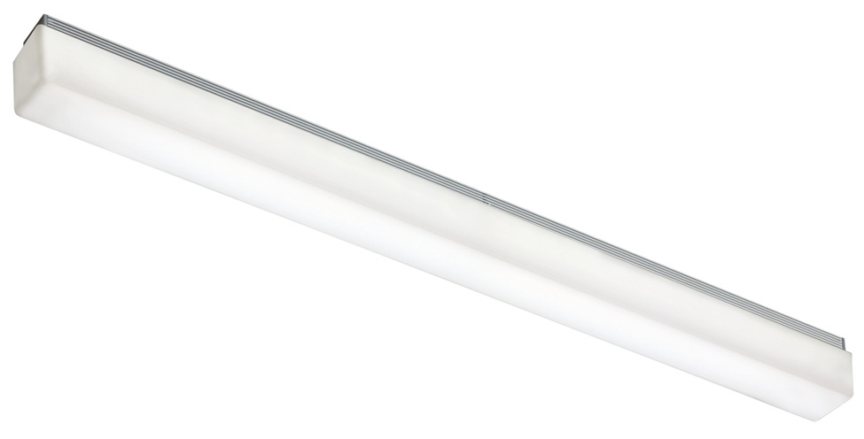 Led Profile Mirror Light 240 V Rated Ip44 Warm White 3000 K