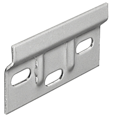 Wall Plate, For Cabinet Hanger, Length 63 Mm